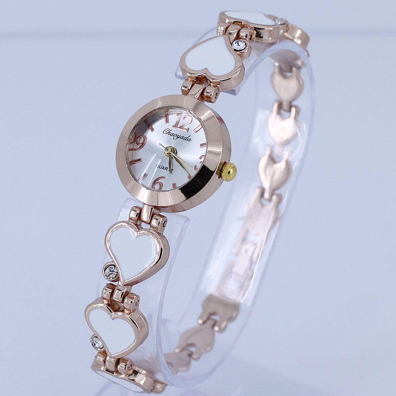 Dámské hodinky v dizajnu srdce