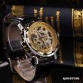 Pánské náramkové hodinky Skeleton