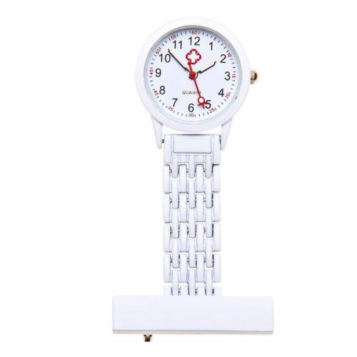 Přívěskové hodinky pro zdravotní sestry kovové