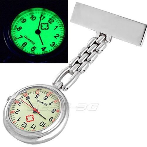 Přivěskové hodinky pro zdravtoní sestry LUMINÓZNÍ