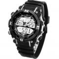 OHSEN Pánské hodinky Digital Analog LCD Alarm