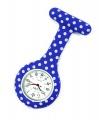 Zobrazit detail - Přívěskové hodinky pro zdravotní sestry SILIKONOVÉ retro