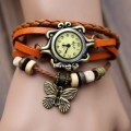 dámské hodinky s motýlkem