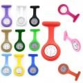 Přívěskové hodinky pro zdravotní sestry SILIKONOVÉ