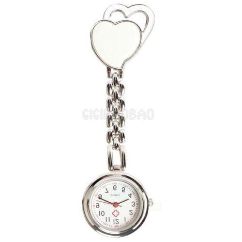 Přívěskové hodinky pro zdravotní sestry dvojSRDCE