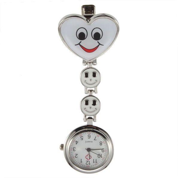 Přívěskové hodinky pro zdravotní sestry SRDCE smile