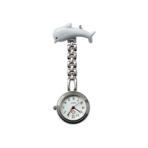 Přivěskové hodinky pro zdravtoní sestry delfín