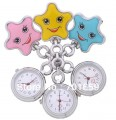 Přivěskové hodinky pro zdravotní sestry HVĚZDA