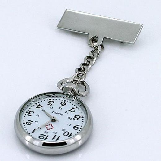 Přivěskové hodinky pro zdravotní sestry KLASIK velké
