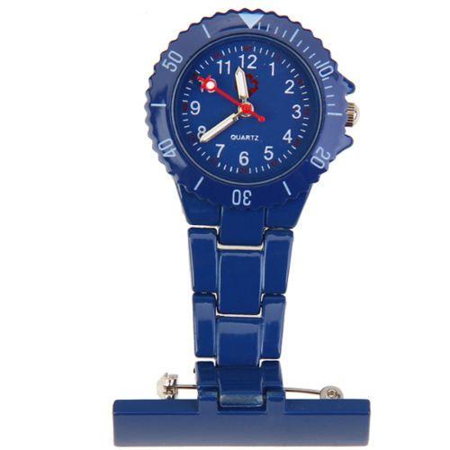 Přivěskové hodinky pro zdravtoní sestry MODERN - tmavě modré