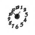3D nalepovací nástěnné hodiny