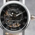 dámské mechanické skeleton hodinky