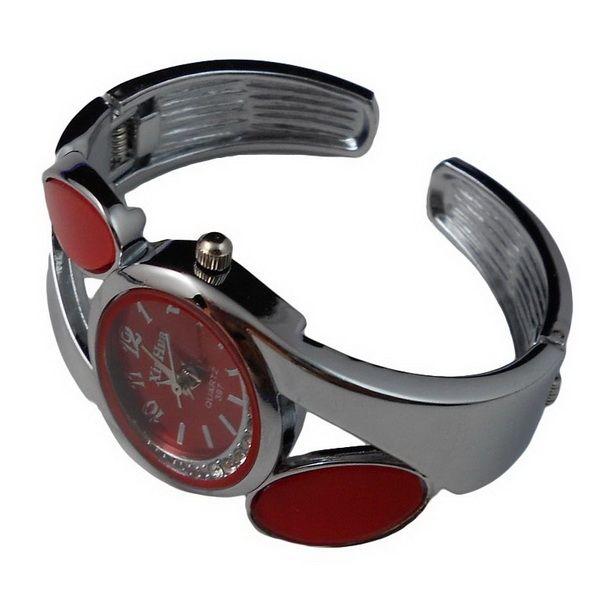 elegantní metal-dámské hodinky