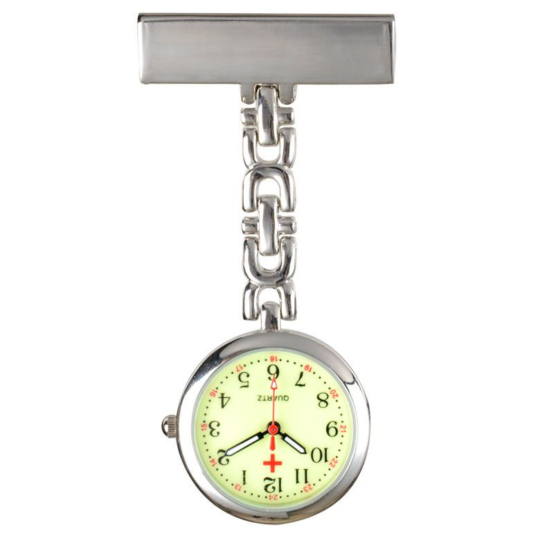 Přívěskové hodinky pro zdravotní sestry LUMINÓZNÍ
