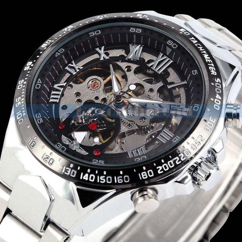 WINNER Skeleton Automatické-Mechanické hodinky