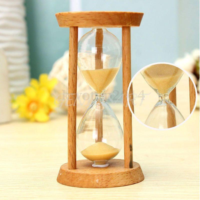 Malé dřevěné přesýpací hodiny 3minuty