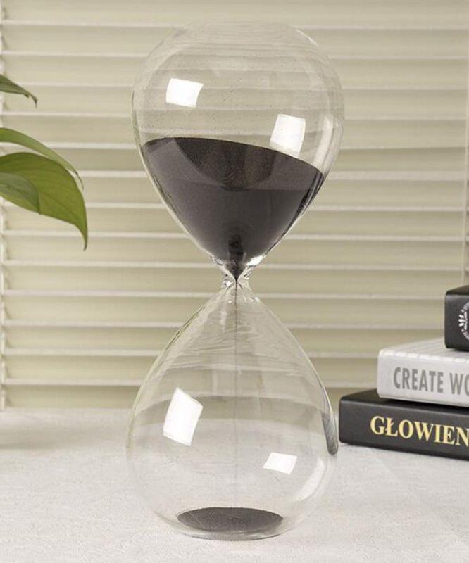 Přesýpací hodiny 60minut skleněné